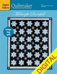 Midnight Snowfall Digital Pattern