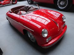 *PEDAL CAR ~ Porsche
