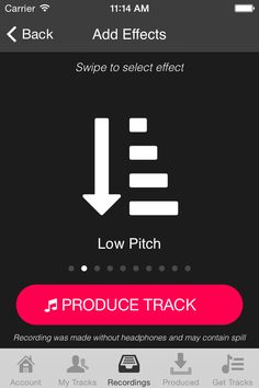 imagine a audio Instagram with filters and you can instantly tweet your audio recordings to share with all your friends, imagine no more checkout Appapella?
