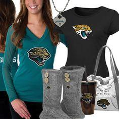 6e4284ff7 Cute Jacksonville Jaguars Fan Gear Jacksonville Jaguars Football