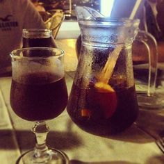 Day #235 - first glass of Sangria in a looooong time