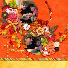 This gorgeous page was made with #thestudio #digitalscrapbooking