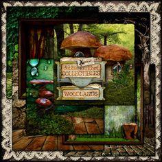 #MischiefCircus2016 Woodlands Papers 1 by Debbie Kerkhof