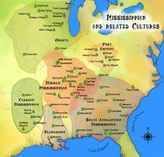 Mississippian cultures HRoe 2010 - Cahokia - Wikipedia, the free encyclopedia