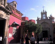 """#Sevilla capital -  Templo del Gran Poder GPS   37º 23' 48"""" 5º 59' 47"""" / 37.396667, -5.996389  En el se encuentra una de las más famosas obras de la imaginería sevillana, el Cristo del mismo nombre, de Juan de Mesa."""