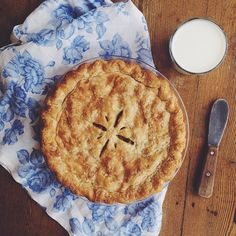 Rhubarb Pie for Mother's Day by Sarah Higgins: http://food52.com/blog/10362-your-photos-mother-s-day #Food52
