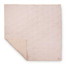 Quilt ledikantdeken roze 120x120 CamCam