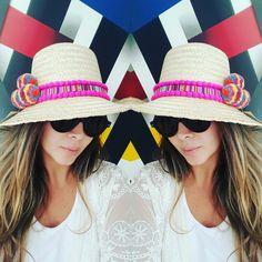 SOMBRERO WAYUU DECORADO❤beautiful hat decorated with weave Wayuu ♡ sombrero de paja decorado con pompones ,cintas y tejido wayuu By @mardeamorsw ❤ #sombreroaguadeño #sombrerowayuu #sombreros #sombrerobeach #sombrerodeplaya #sombrero #sombrerodecorado #sombrerosdecorados #wayuustyle #wayuu #sandaliaswayuu #sandals #sandalias #wayuumochila #wayuubags #wayuubag #wayuubracelets #mardeamorsw