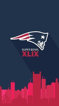 Boston skyline   Flying Elvis   New England Patriots Super Bowl XLIX