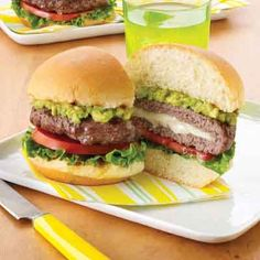 You'll love the melted cheese surprise inside these burgers.