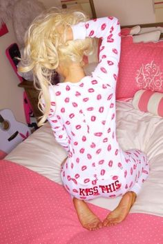Victoria's Secret thermal jammies