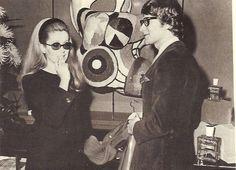 1966 - YSL & Catherine Deneuve at Rive Gauche Boutique