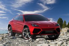 The Lamborghini Urus will get a plug-in hybrid option.