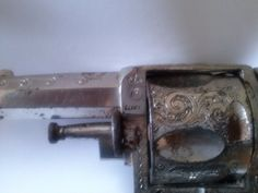 Ruger revolver used in the Spanish-EEUU War in Cuba by the Spanish troops