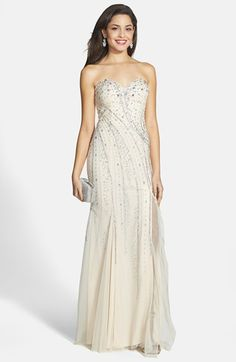 Sean Collection Embellished Strapless Gown available at #Nordstrom