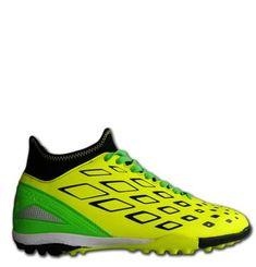 Ichnos Karibe astro turf futsal yellow black green football boots