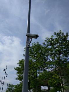 beveiligingscamera's op Sloterdijk 2. Hannes en Rico. MM1A