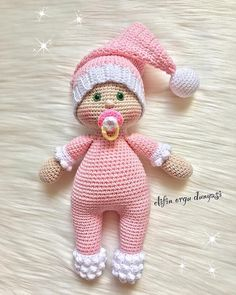 "515 Likes, 9 Comments - Daily doll pics 2 inspire you (@1000crochetdolls) on Instagram: ""Handmade by @elifin_orgu_dunyasi 🌸"""