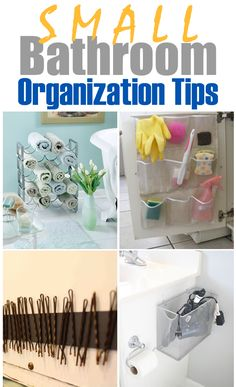 10 Genius Tips to Organize Your Bathroom on a Budget ►