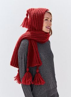 Mag. 183 - #36 Hooded scarf