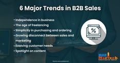 6 #Major #Trends in #B2B #Sales  #fromwhereistand #wahm #entrepreneur #smallbusiness #socialmedia #socialmediamarketing #network #networkmarketing #success #goals #beyourself #advertise #contentmarketing #Digitalmarketing #SEO #blogging #marketing #branding #marketingtips #marketingstrategy #startup #b2bmarketing
