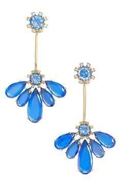 Main Image - kate spade new york 'color crush' drop earrings