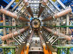 Higgs Boson Images of the incredible Large Hadron Collider the world's largest and highest energy particle accelerator. This billion euro machine has revealed the Higgs Boson, the elementary subatomic particle. Stephen Hawking, Particle Collider, Cern Collider, Elementary Particle, Particle Accelerator, Le Vatican, Large Hadron Collider, Higgs Boson, String Theory