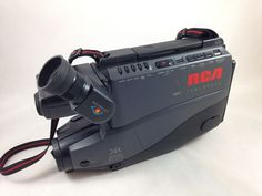 RCA VHS Camcorder DSP3 Vintage Camera CC422 24X Zoom Plus FOR PARTS or REPAIR  #RCA