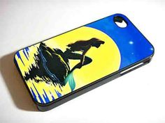 IN THE MOONLIGHT ARIEL LITTLE MERMAID NDR for iPhone 4/4s/5/5s/5c, Samsung Galaxy s3/s4 case