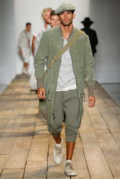 Greg Lauren Spring 2016 Menswear - Collection - Gallery - Style.com
