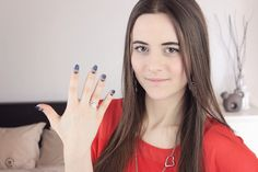 Denim Jeans Nail Art - Tutorial e Photos