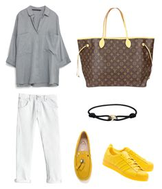 """""""Untitled #47"""" by fatimah42 on Polyvore featuring Louis Vuitton, Rebecca Taylor, Tod's, adidas Originals and Cartier"""