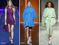 Spring/ Summer 2017 Fashion Trends: Ruching