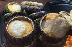 A Foodie's Guide to Eating and Drinking in Madrid - stuffed sea urchin