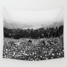 Mountain Wildflowers Wall Tapestry by Kurt Rahn. Worldwide shipping available at Society6.com. Just one of millions of high quality products available.