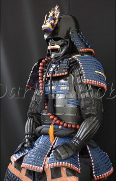 These samurai dudes must have been terrifying when they came at you in full battle armour. Ronin Samurai, Samurai Weapons, Samurai Helmet, Samurai Warrior, Geisha, Kendo, Katana, Samourai Tattoo, Bushido
