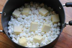 Sweet & Salty Popcorn Cake