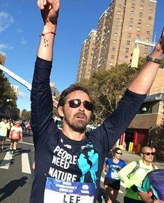 Lee Pace in The New York City Marathon November 5 2016