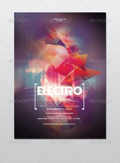 Electro Party Flyer Template PSD | Buy and Download: http://graphicriver.net/item/electro-party-flyer/8714392?WT.ac=category_thumb&WT.z_author=CreativeIdeasLab&ref=ksioks