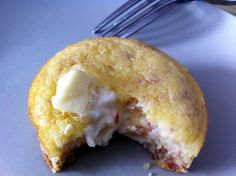 Petit moelleux coeur Kiri et lardons ! #Kiri #recette #miam #gourmand #kids #food #creamcheese #fromage #enfant