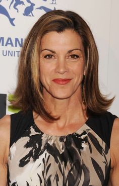 Another way to show how versatile the long bob is: Wendie Malick wears hers flipped at the ends for a sassy look.More bob hairstyles for over 40:Short BobMessy BobMedium-Length Bob