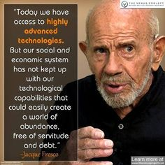 jacque fresco quotes - Yahoo Image Search Results