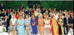 Jordanian royal family at princess Ayah bint Faisal wedding. #amman #Jordan