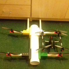 Drone build in progress. size comparison with the JD -11 Quad. @primomechatronics #fun#engineering#日本 #programming#drones #computing#mechanics #electronics#life #技術 #python #ドローン#arduino#drone#uav #china #raspberrypi #maker #dji #quadcopter#朝#月曜日#プログラミング #冬 #bicopter #sheffield #pegasus #drone #unilife #sheffielduni