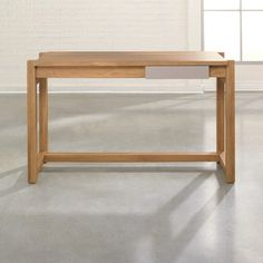 Simple, small writing desk at a GREAT price... Sauder Soft Modern Writing Desk