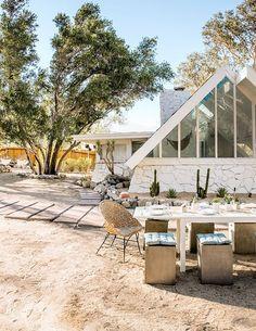 A Fresh New Garden for Sarah's Desert A-frame |