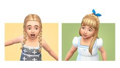 Sims 4 CC's - The Best: Toddlers Hair by Simple Simmer