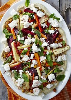 Low FODMAP Recipe and Gluten Free Recipe - Quinoa & feta salad with roasted vegetables - http://www.ibs-health.com/quinoa_feta_slad_roasted_vegetables.html