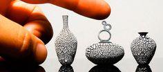 Artista cria incríveis peças de cerâmica em miniatura