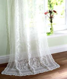 unique lace valances - Google Search